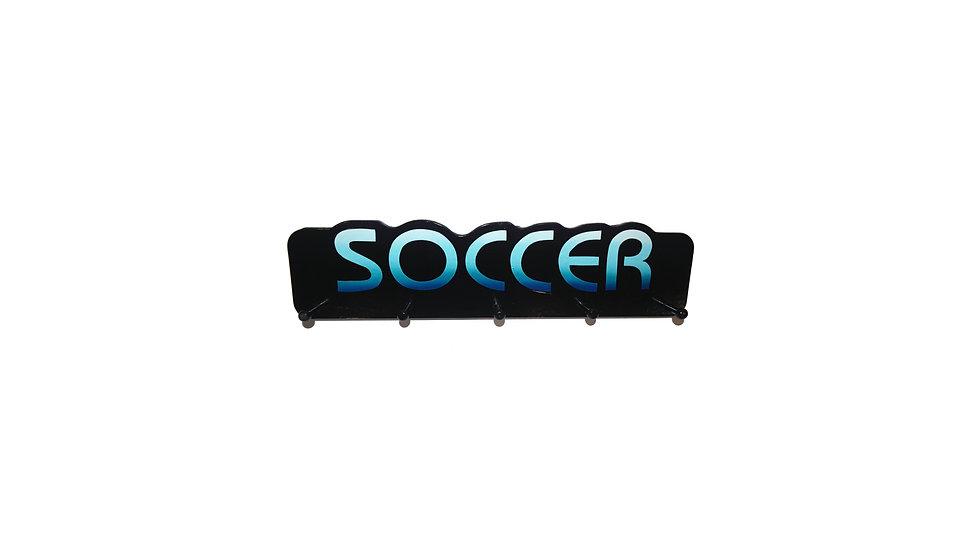 Soccer Word Plaque