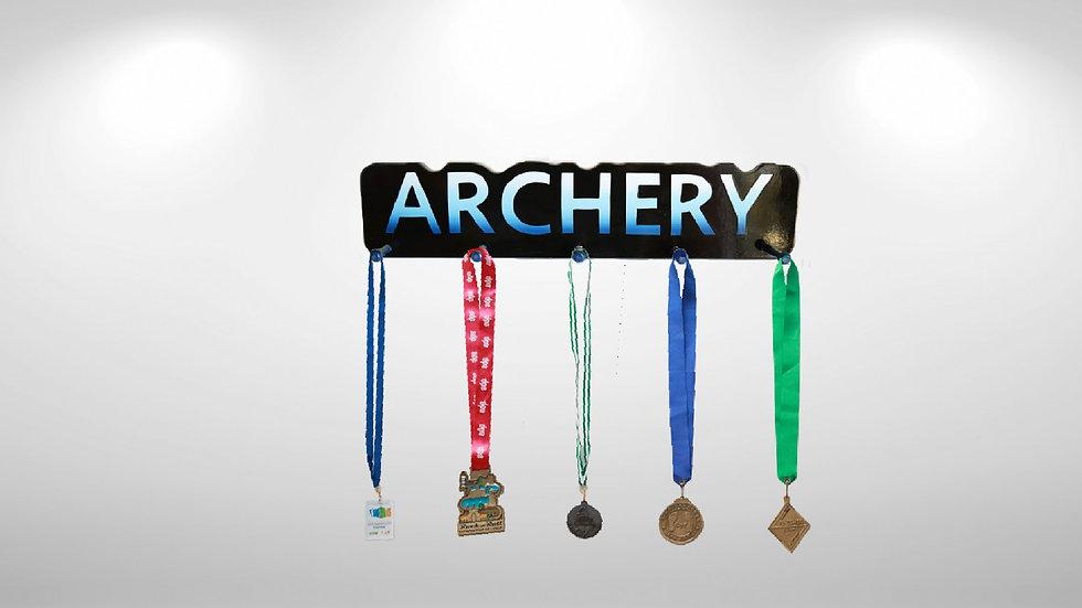 Archery Word Plaque