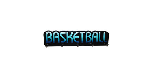 Basketball Word Plaque