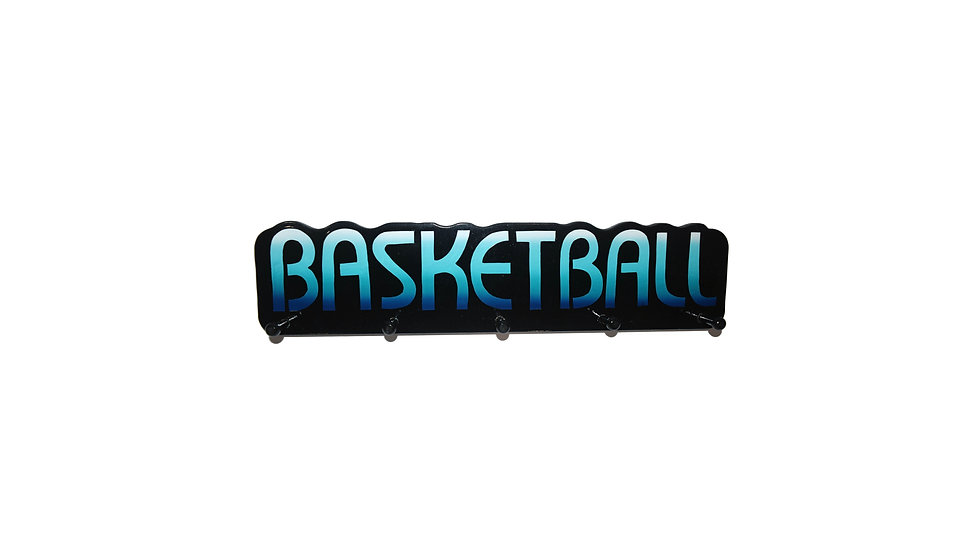Basketball Word Plaque