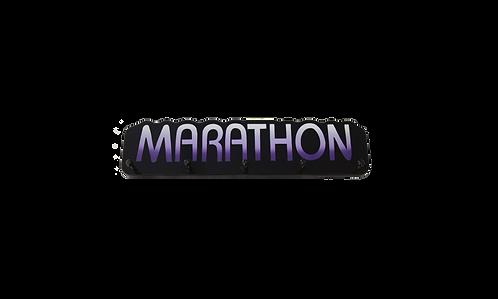 Marathon Word Plaque