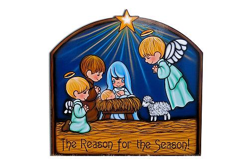 The Reason for the Season Nativity