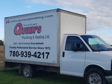 Quinn's Plumbing Vehicle Vinyl