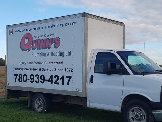 Quinn's Plumbing Vehicle Vinyl