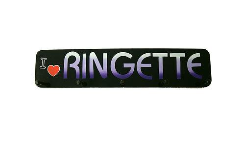 Ringette Word Plaque