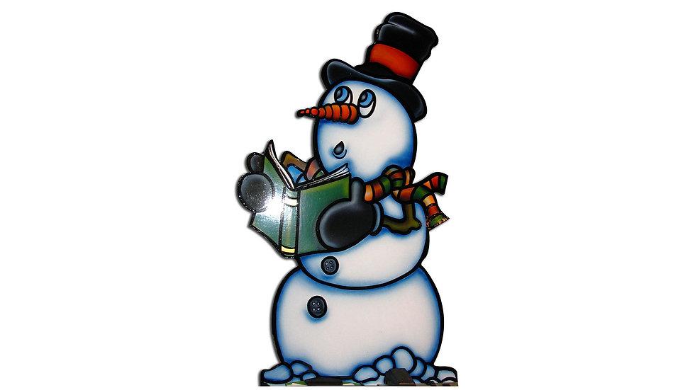 Book Snowman