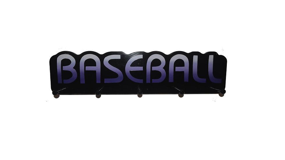 Baseball Word Plaque