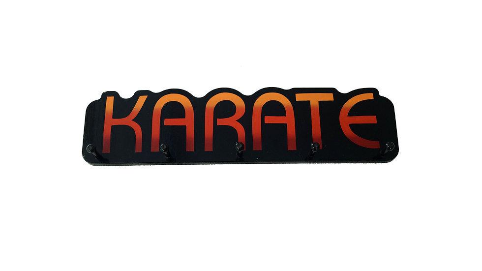 Karate Word Plaque