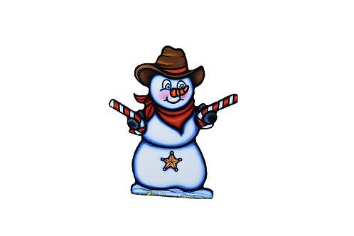 Sheriff Snowman