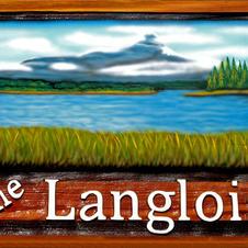 Cedar Yard sign The Langlois