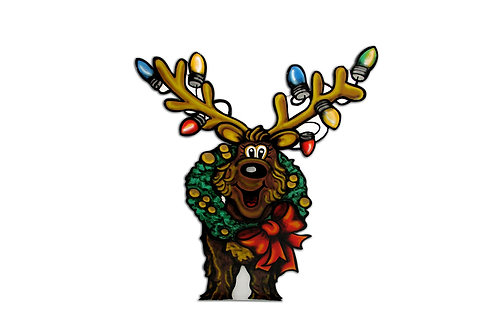 Wreath Reindeer