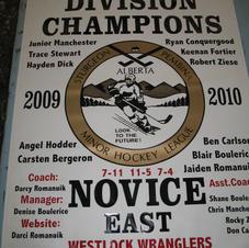 Championship arena banners