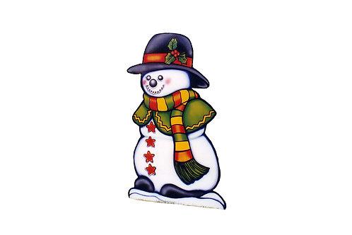 Shawl Snowman