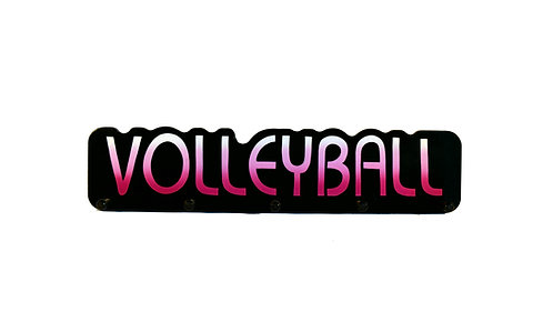 Volleyball Word Plaque