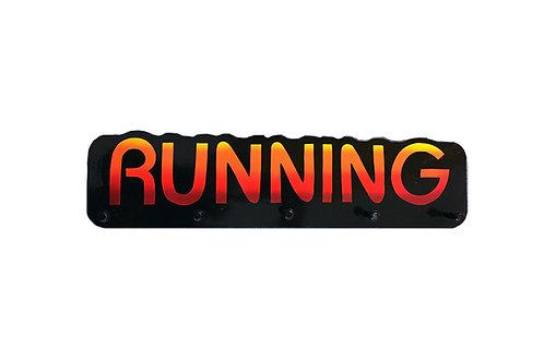 Running Word Plaque