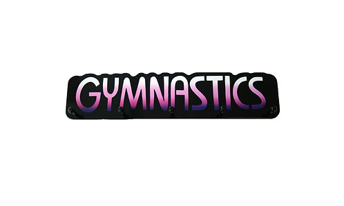 Gymnastics Word Plaque