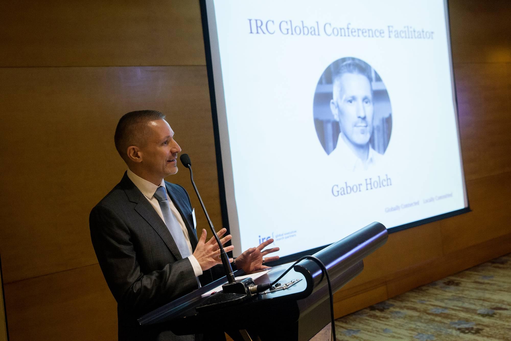 IRC Shanghai - Gabor Holch