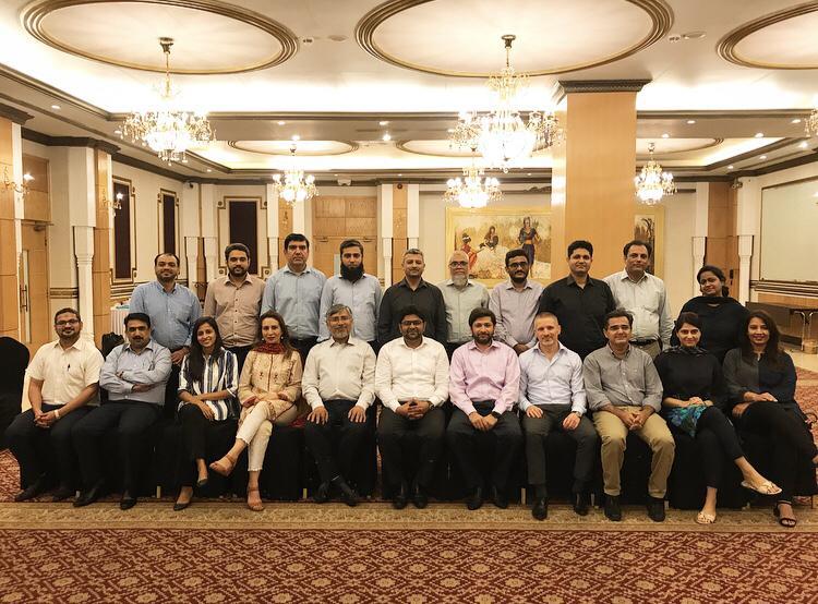 Pakistan training Gabor Holch