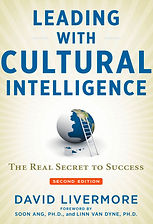 book cover Leading with Cultural Intelli