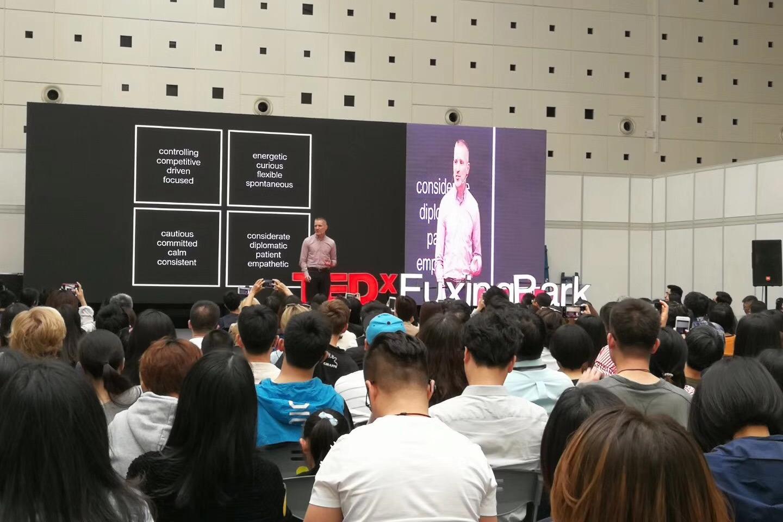 TEDx Shanghai Gabor Holch 2