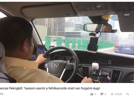 Egyperces Pekingből: Taxisom szerint a felhőkarcolók miatt van forgalmi dugó