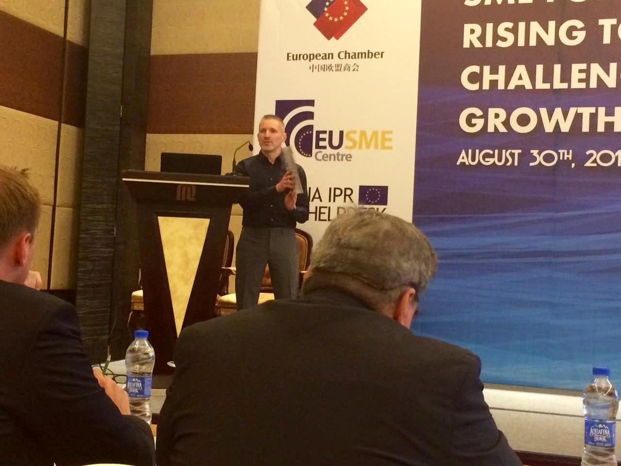 China SME EU Chamber - Gabor Holch