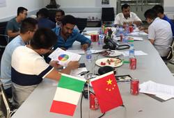 Intercultural team workshop