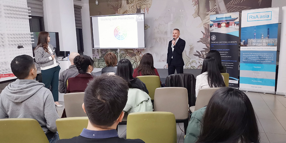 Lecture: Leading as a Foreigner in China (Shanghai Jiao Tong University & Zoom)