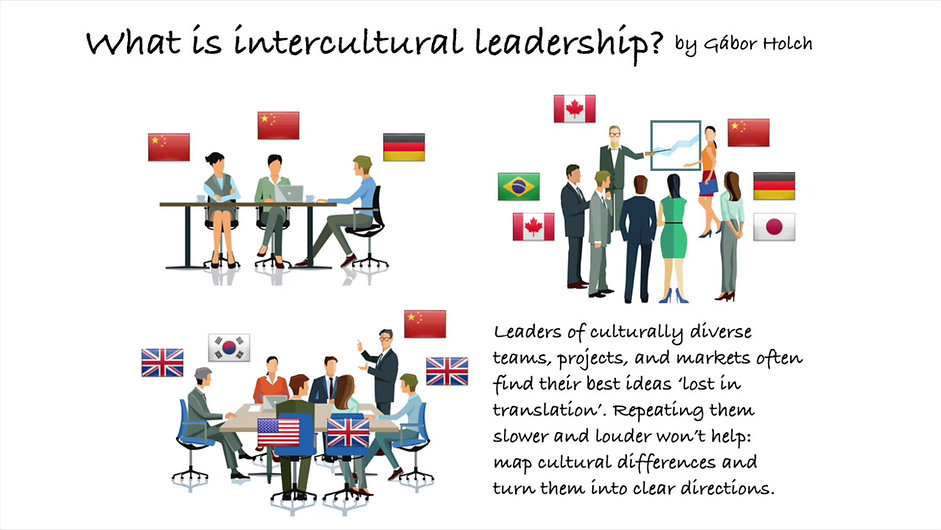 What is intercultural leadership by Gabor Holch