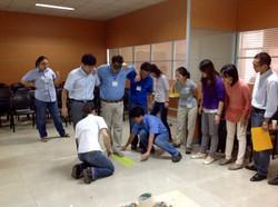 Campanile teamwork training China