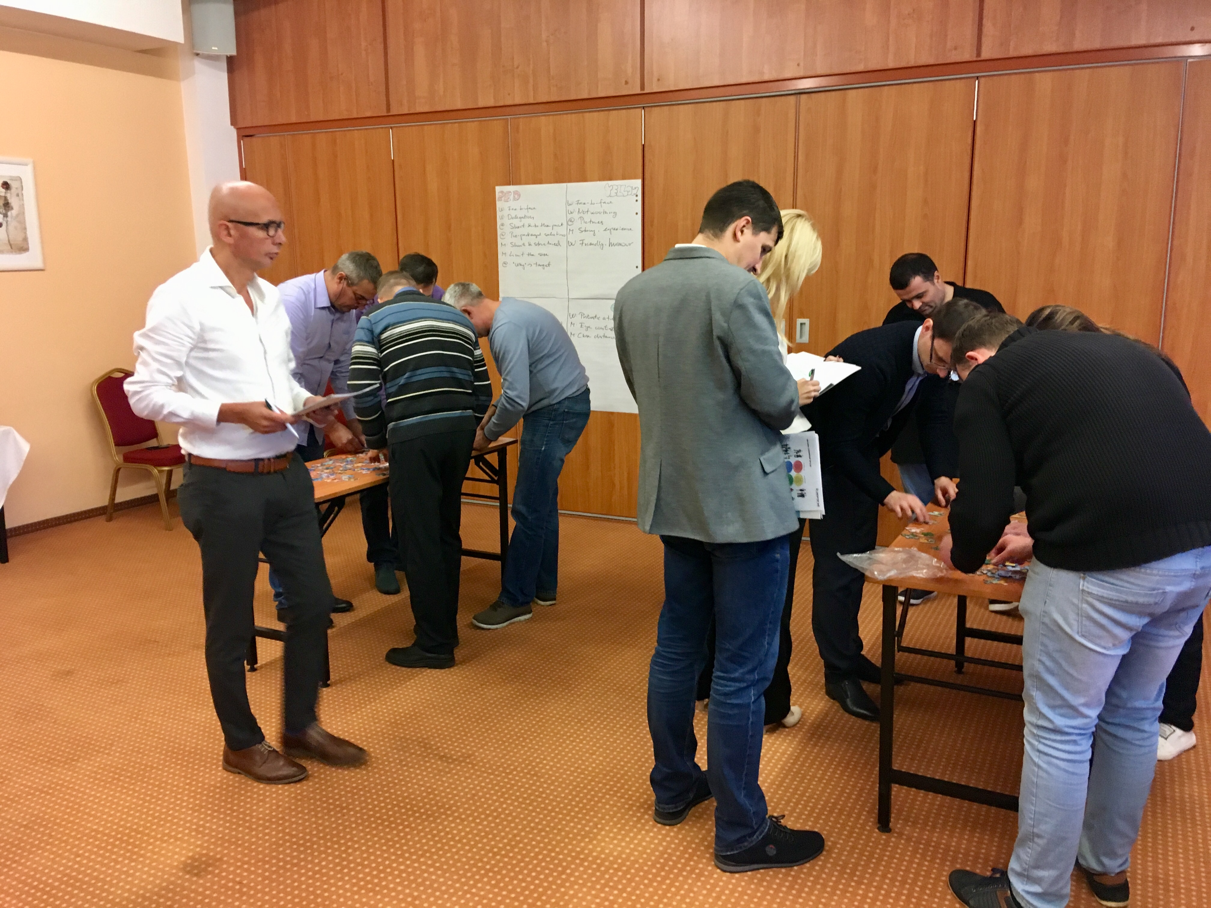 Teamwork workshop Russia