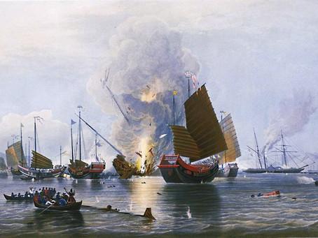 Kelet és nyugat, akkor és most: Ópiumháború és sérvkötő