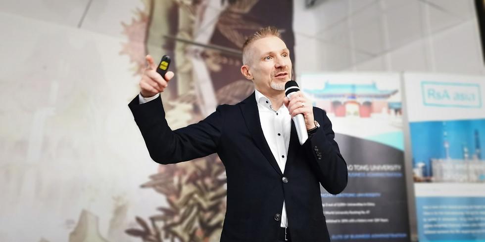 Speech: Building successful expat careers in China (Shanghai)