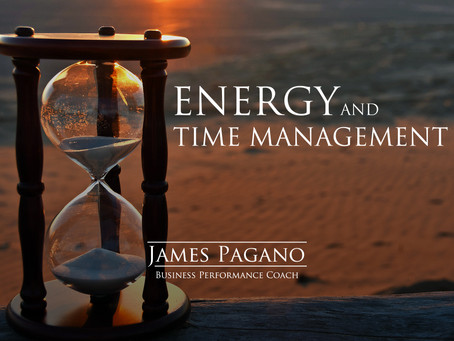 Energy and Time Management