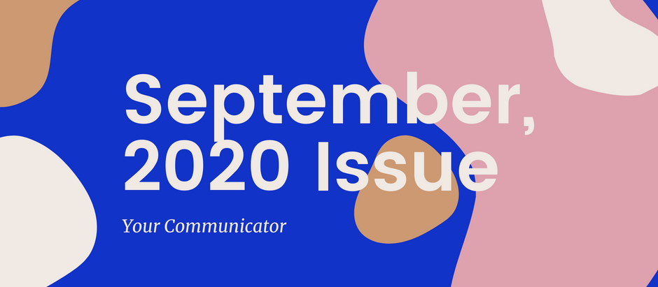 'Your Communicator' - September Issue