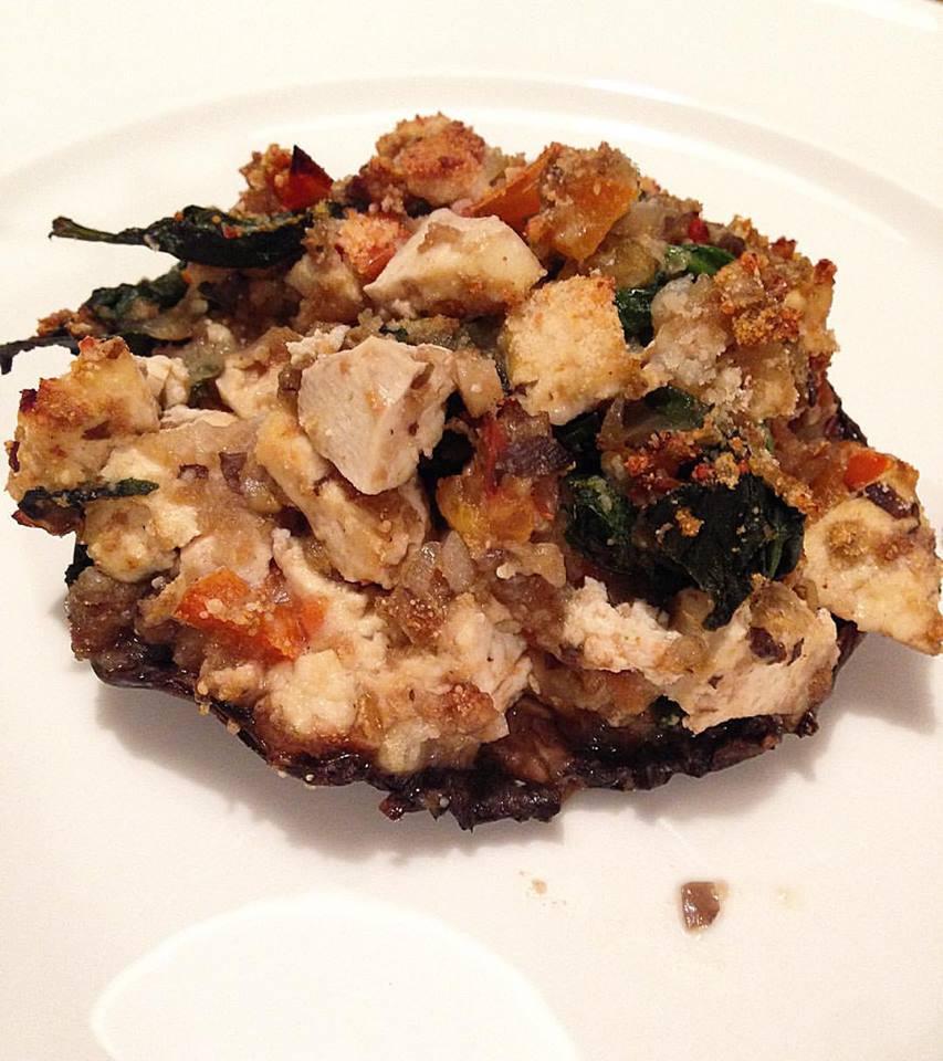 vegetarian, stuffed, mushroom, food, nutrition, blog, recipe