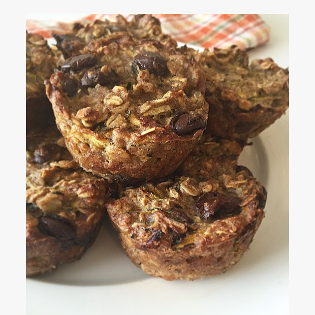 zucchini, oat, muffins, food, nutrition, blog