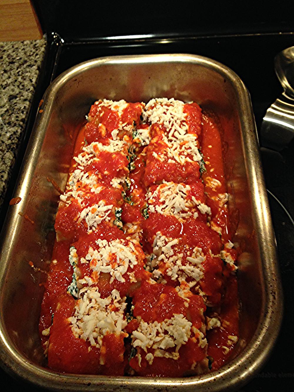 lasagna rollups, homemade, italian, food, nutrition, blog, recipe