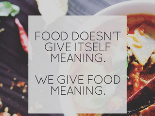 We Give Food Meaning