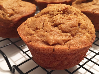 Recipe: Sweet Potato Banana Muffins