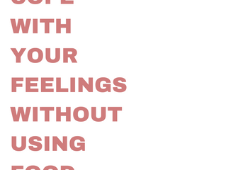 Intuitive Eating Principles Summarized - #7 Cope With Your Feelings Without Using Food