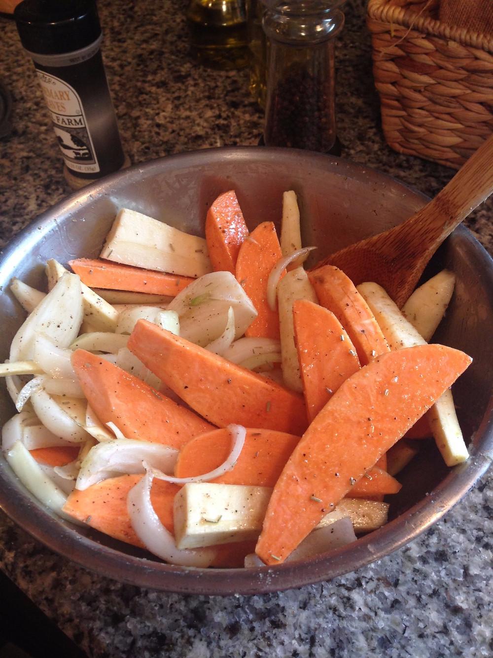 fall roasted vegetables, food, nutrition, blog, recipe