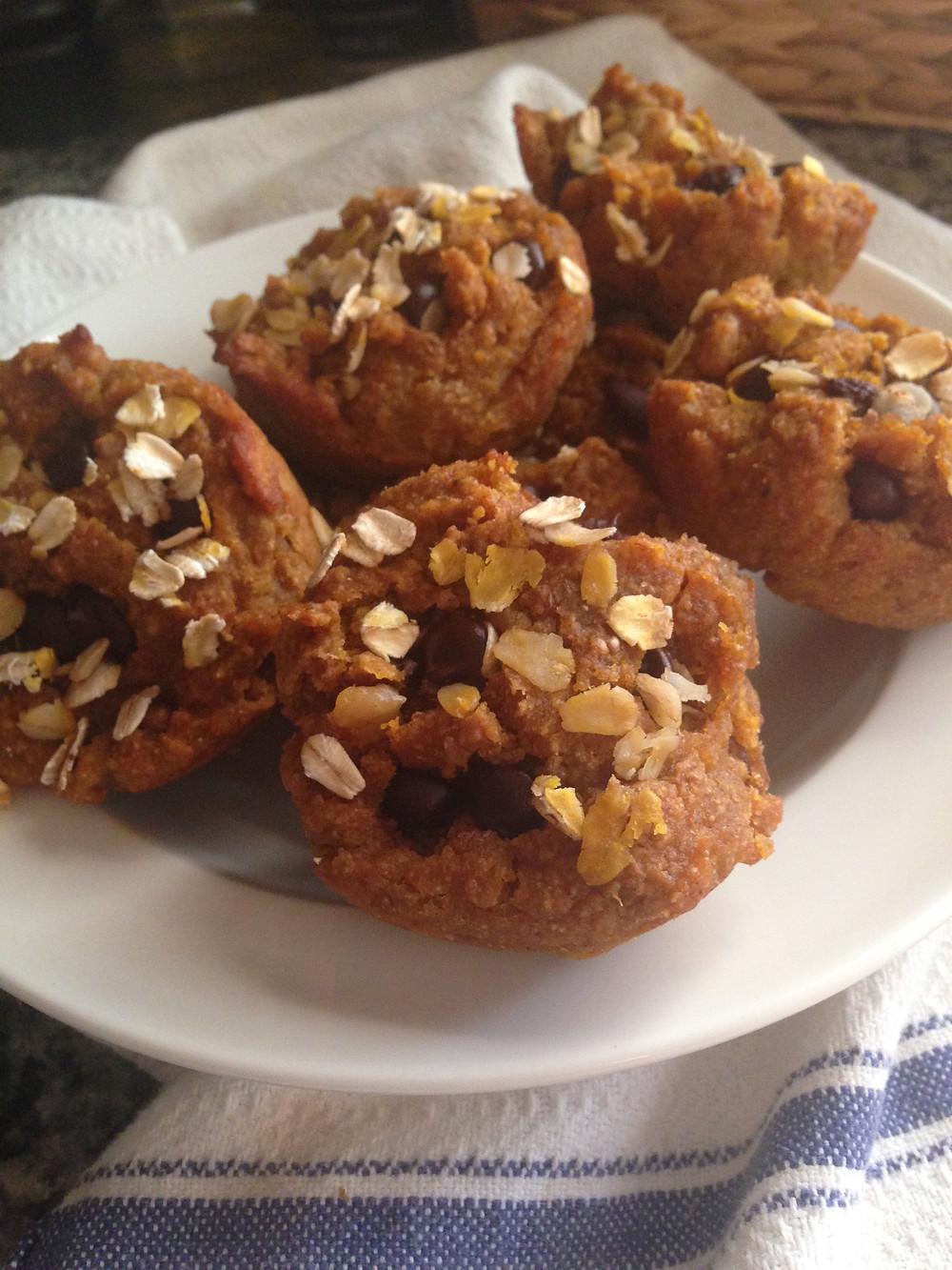 muffins, homemade, pumpkin, healthy, food, baking, nutrition