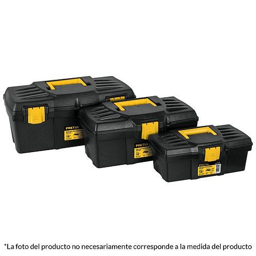 """Caja de Herramientas Plástica 13"""" Pretul"""
