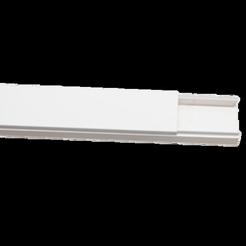 Canaleta Blanca Auto Adhesiva 39x19 2 MTS Fermetal