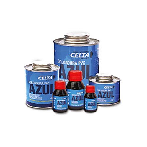Soldadura Liquida PVC 1/32 Azul Celta