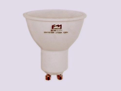 Bombillo LED GU 10 7W 120V 2700K Fermetal