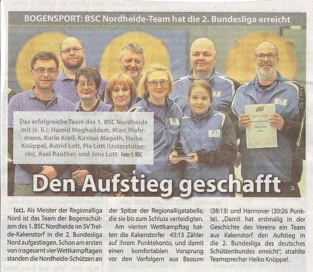 Bogensport_Aufstieg_2.Bundesliga_Wochenb