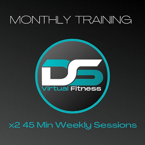 Monthly PT: 2x45 Minute Sessions Every Week