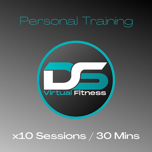 x10 30 Minute Personal Training Sessions